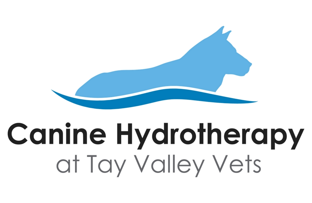 Canine Hydrotherapy at Tay Valley Vets logo