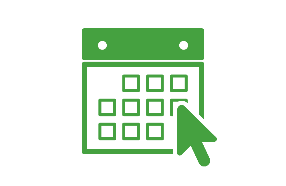 Tay Valley Vets Online Booking icon showing a green calendar
