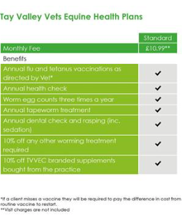 Equine Health Care - Plan